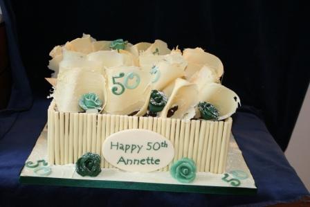 Melanie Ferris Cakes News WOW Chocolate 50th Birthday Cake