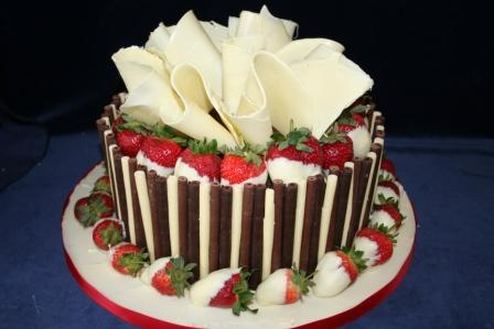 Strawberry Birthday Cake Pictures Strawberry Birthday Cake.jpg