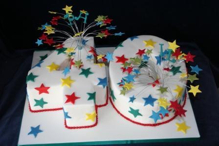 Melanie Ferris Cakes News 40 Number Birthday Cake