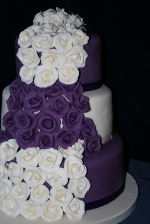 Melanie Ferris Cakes News Cadburys Purple Wedding Cake