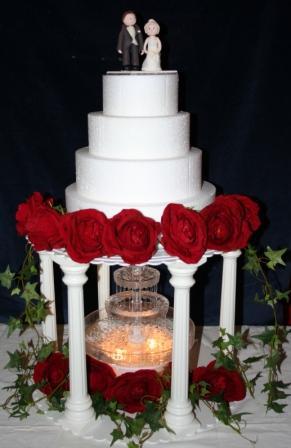 Melanie Ferris Cakes News Water Fountain For Wedding Cake