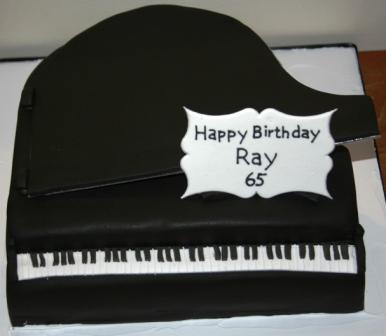 Melanie Ferris Cakes News Grand Piano Birthday Cake