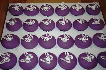 20120423 Cadbury Purple Butterfly CakeJPG