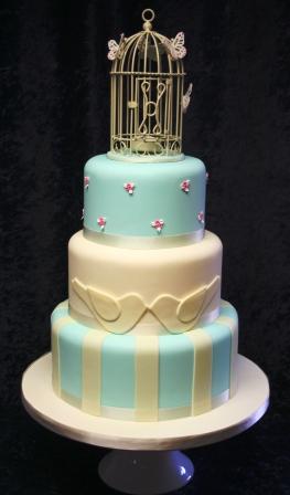 Melanie Ferris Cakes News 187 Birdcage Wedding Cake