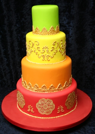 20131128-Indian Wedding Cake 1.JPG