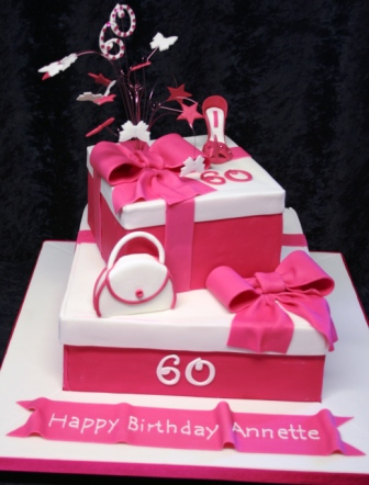 Melanie ferris cakes news pink gift box cake 2402 pink gift box cake negle Image collections