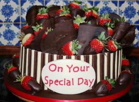 Melanie Ferris Cakes News Special Chocolate Birthday Cake