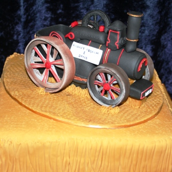 Melanie Ferris Cakes News Traction Engine Birthday Cake