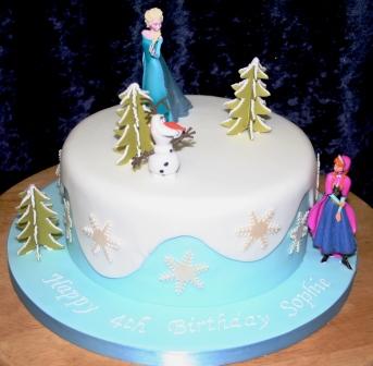 Melanie Ferris Cakes News Frozen Birthday Cake