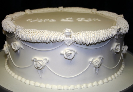 Melanie Ferris Cakes News 187 Royal Iced Diamond Wedding