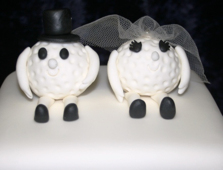 Melanie Ferris Cakes News » Golf Themed Wedding Cake