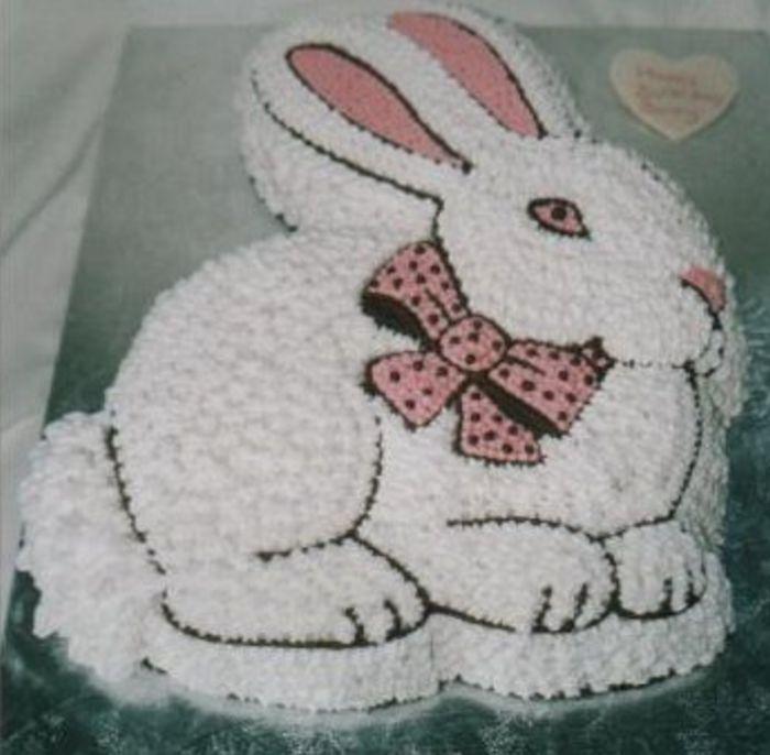 Gallery Birthday Fruit Rabbit Cake